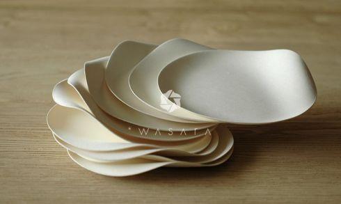 とっておきのパーティーは、デザインされた「使い捨て紙皿」で!【WASARA】|インテリアハック