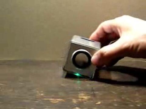 ELM キューブ型MP3プレーヤ