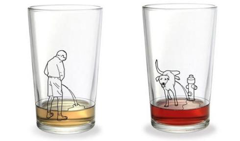 Manneken Pis/Drinking glass
