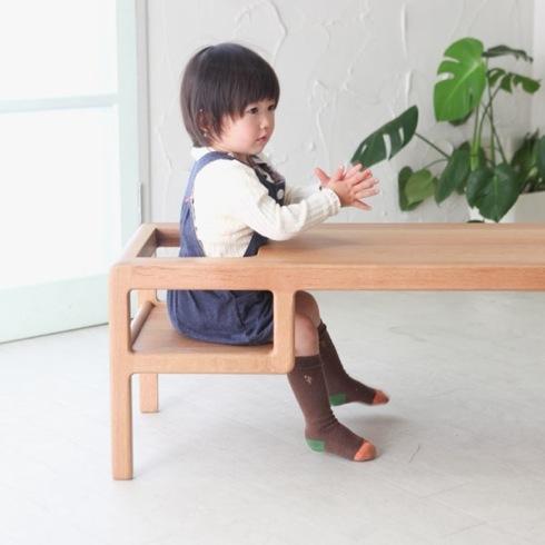 これなら安全?ベビーチェアが付いたテーブル【baby In Table】|インテリアハック
