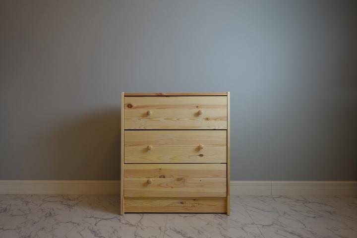 IKEAの3段チェスト「RAST」が・・・。