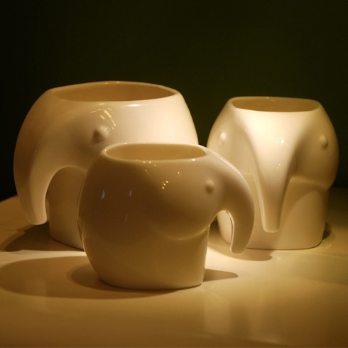 Creativeelephantceramicsetcup01