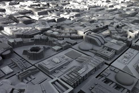 アナタの部屋がデス・スターに!スターウォーズファン垂涎のタイル【Death Star Inspired Wall Tiles】