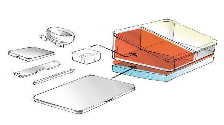 デスクエニウェア:収納構造