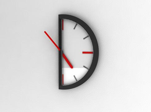 1日の半分しか使えない時計【hal...