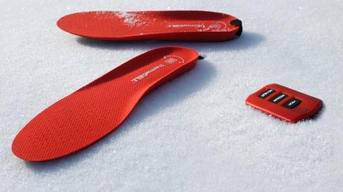 靴の中がぬくぬくに。充電式ヒーター内蔵のインソール【Heated Insoles】|インテリアハック