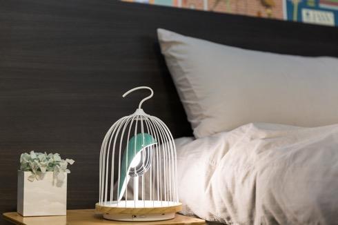 その鳥は美しい音楽を奏でる。鳥籠のなかのBluetoothスピーカー【JinGoo】