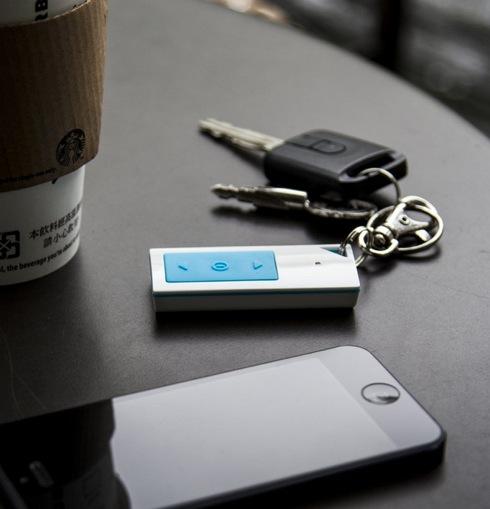 音楽再生からカメラのシャッターまで! iPhoneが操作できるキーホルダー【KeyPal Pro】