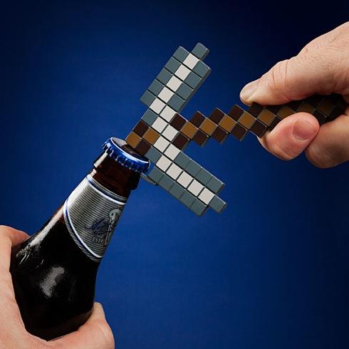 Minecraftpickaxebottleopener01
