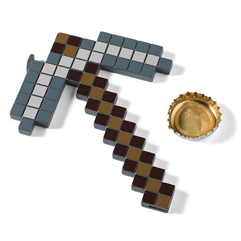 Minecraftpickaxebottleopener02