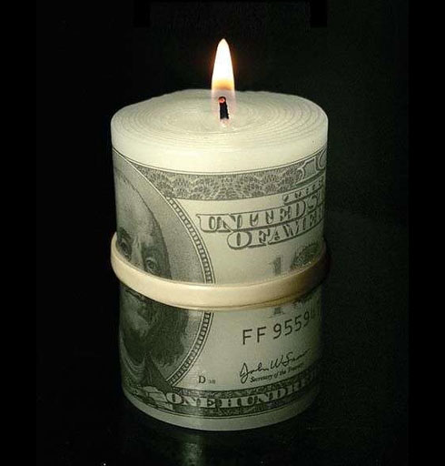 Moneytoburncandle01