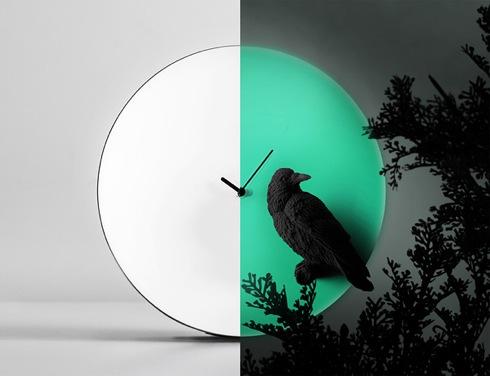 おうちにお月様を。夜になると「月」に変身する時計【Moon X CLOCK】