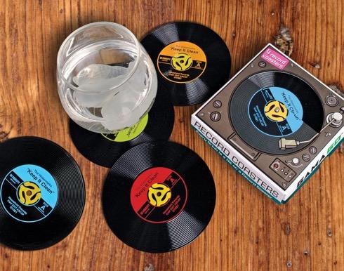 レコード盤そっくりなコースター【Record Coasters】