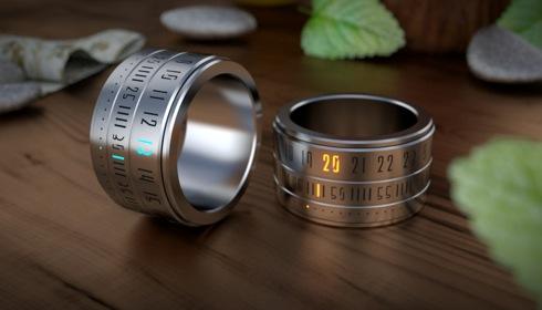 超絶クールなあの「指輪時計」がいよいよ商品化へ!?【Ring Clock】