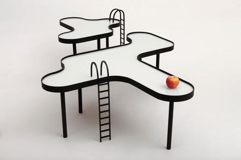 スイミングプールっぽいテーブル【Swimming Pool Table】
