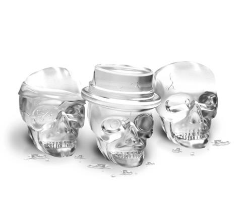 おしゃれなドクロ氷が作れるアイストレー【Tovolo Skull Ice Molds】