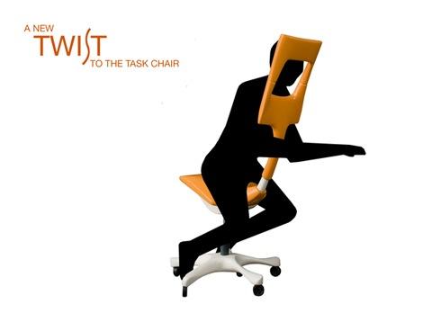 肩や首のコリがひどい人にオススメな画期的ワークチェアー【Twist】