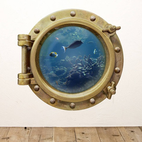 Underwaterportholewallsticker01