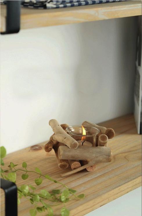 Woodcandleholderset04